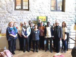 St David's Day twmpath raised £400 for eye care project